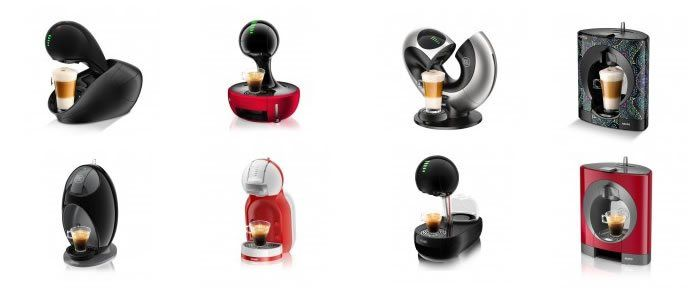 Cafeteras Dolce Gusto