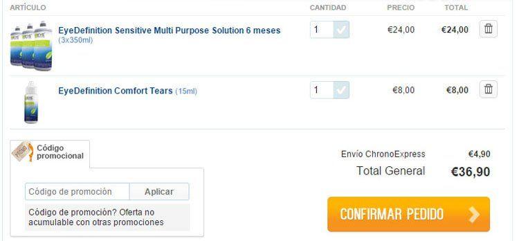 Código de promoción LentillasOnline.es