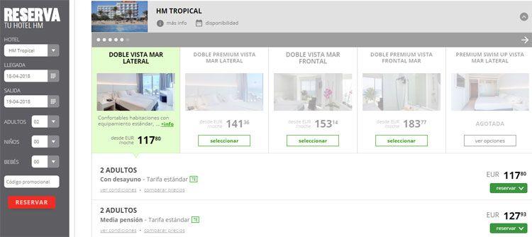 Cupón promocional HM Hotels