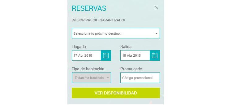 Código promocional Ona Hotels
