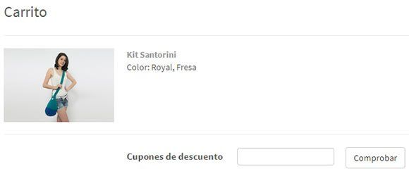 Cupones descuento Miss Kits