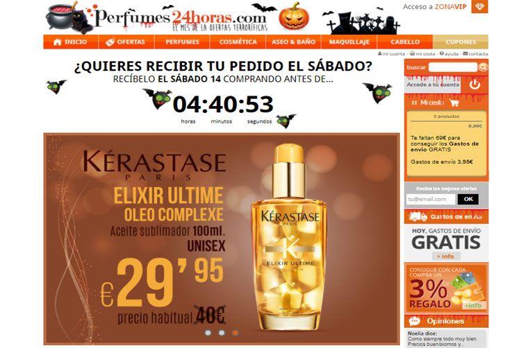 aplicar bono descuento de perfumes club enviado por correo