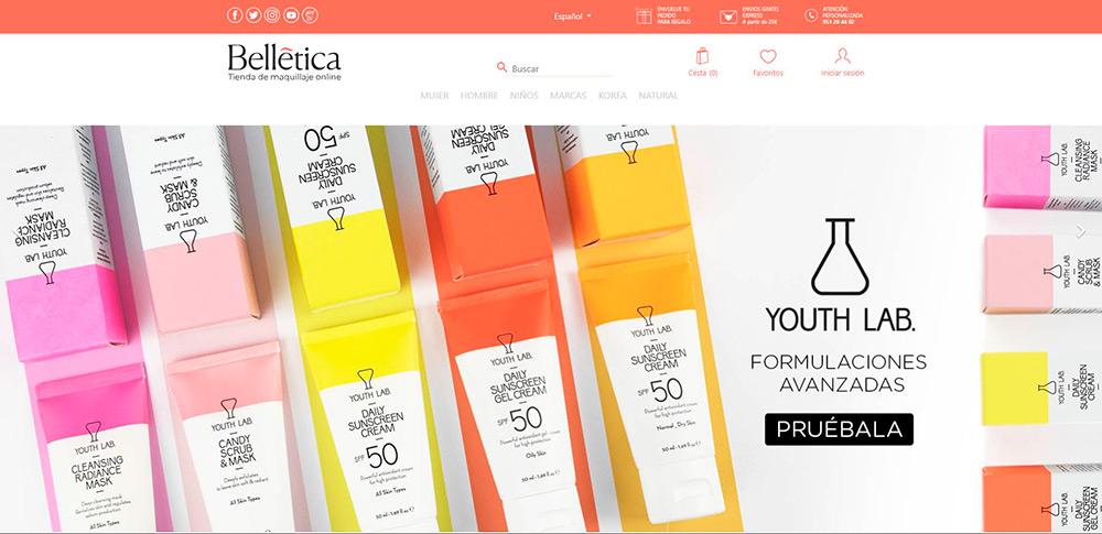 Ofertas y descuentos en Belletica.com
