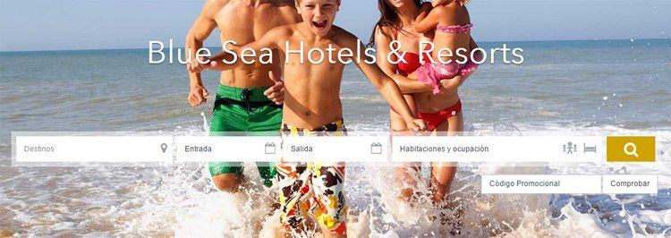 Código promocional Bluesea Hotels