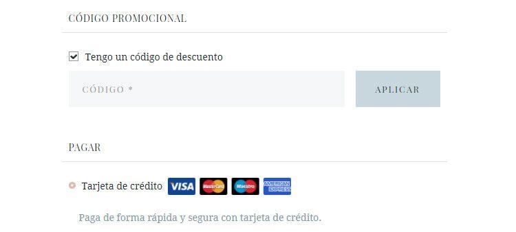 Código promocional Pura López