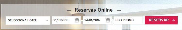 Código promocional Rafael Hoteles