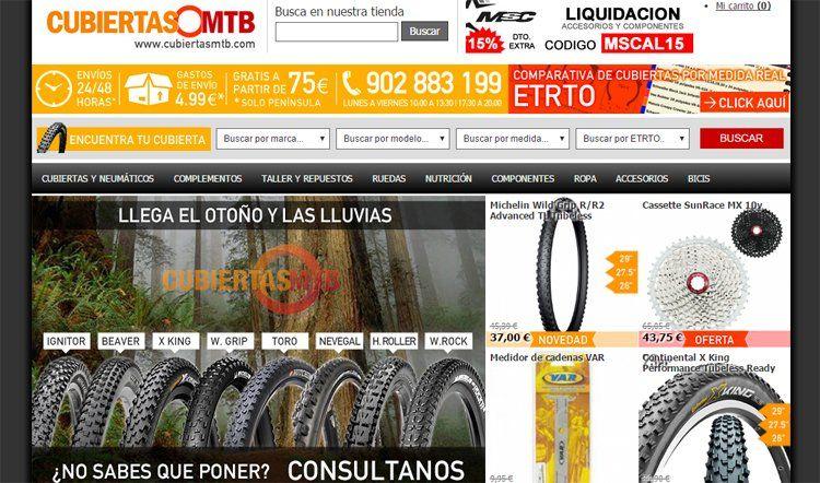 CubiertasMTB.com