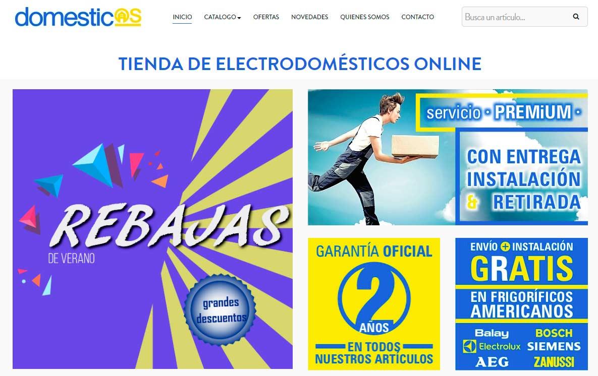 domesticos, tienda electrodomésticos online