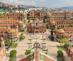 Hospital Santa Creu i Sant Pau Barcelona