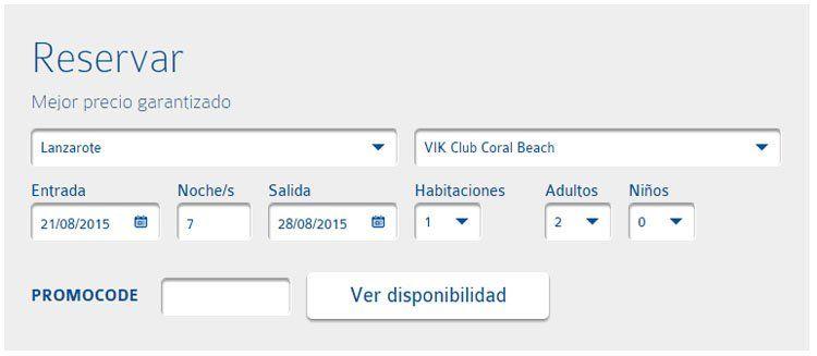 Código descuento VIK Hotels