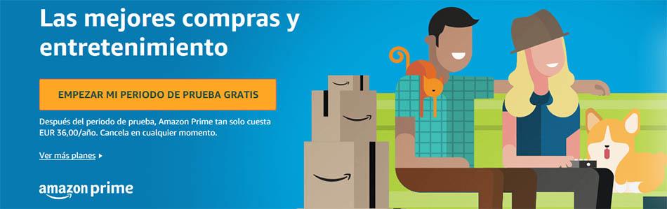 Probar Amazon Prime