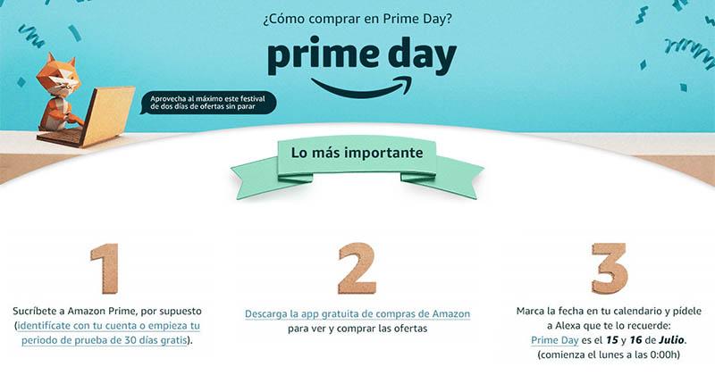 Llega el Amazon Prime Day