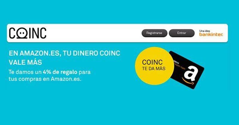 Descuentos en Amazon gracias a Coinc
