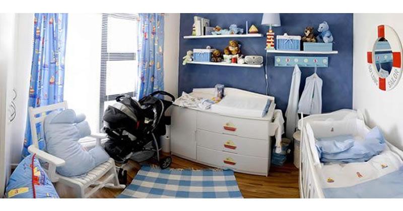 Decoración de cuartos para bebés recién nacidos