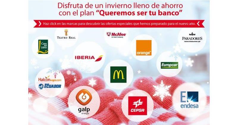 Descuentos clientes del Santander