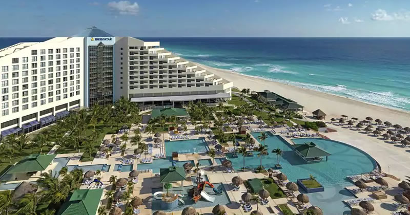 Descuentos en 4 hoteles de Cancún