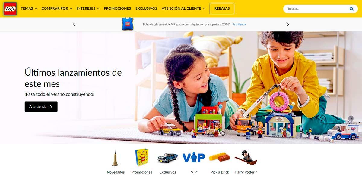 Tienda online de LEGO