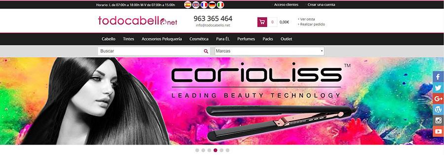 Códigos promocionales para Todocabello.net